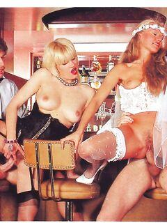 Barbara and her girlfriend  Fun in the Bar  67