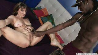 Jillian Foxxx Cougar, Interracial, Hardcore sex
