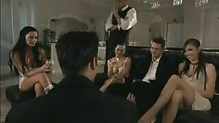 Alexa May with Christina Bella and Sandra Romain - scambi di letti scene 2