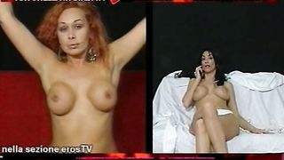 Antonella Del Lago and Valeria Visconti - Strip