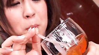 IPTD-478 100-Shot Sperm Drinking Aoyama Nana