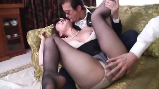 JUX-240 Eriko Miura Widow Who Loved His Son-in-law