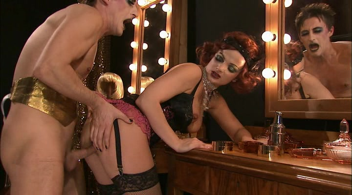 Porn cabaret Dance